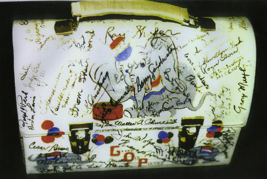 GOP Lunch Bucket Signed