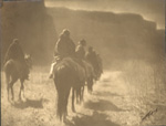 Edward S. Curtis Photo Signed