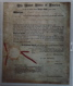 James Monroe as President and John Quincy Adams Signed Patent