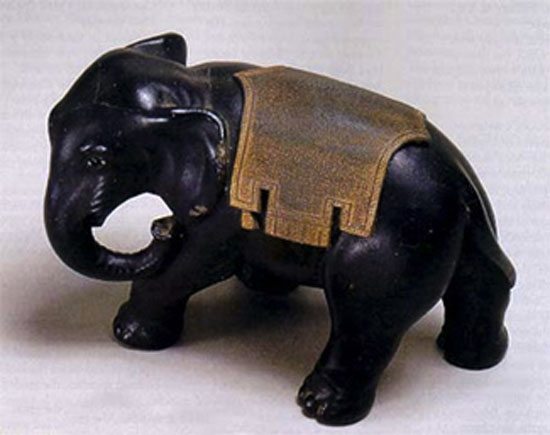 Ulysses S. Grant's Elephant Inkwell